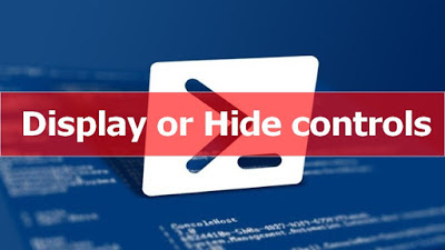 PowerShell & WPF: Display or Hide Controls