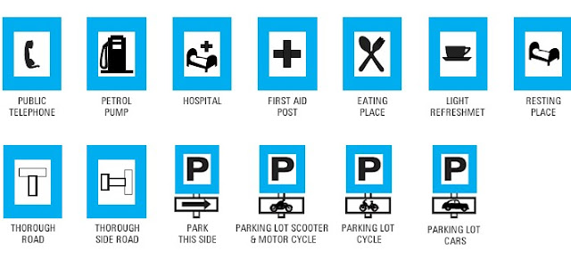 Traffic signs that provide information