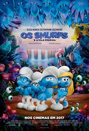 Filme Os Smurfs e a Vila Perdida Dublado Torrent 1080p / 720p / BDRip / Bluray / FullHD / HD Download