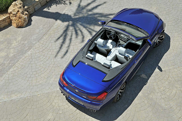 The new BMW M6 Convertible up