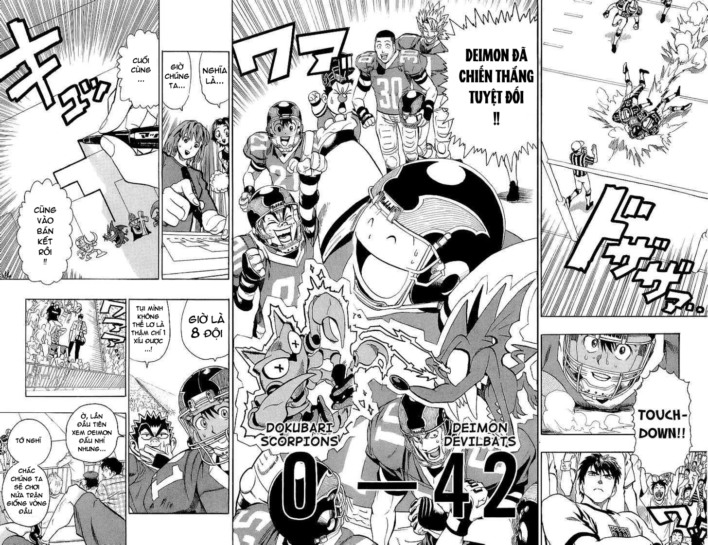 Eyeshield 21 chapter 109 trang 20