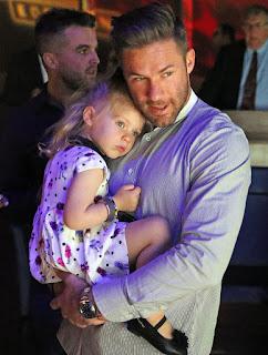 Julian Edelman With Daughter