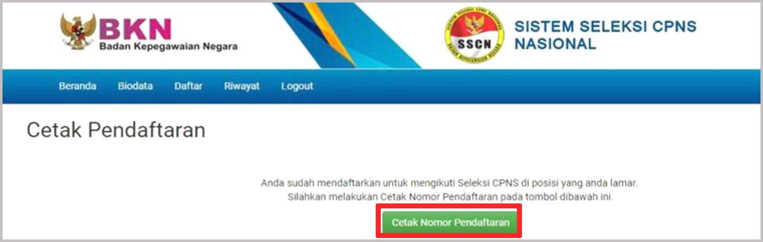 Tutorial Pendaftaran CPNS 2019/2020 Melalui Portal SSCN ...