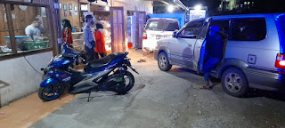 Demi Menjaga Situasi Kamtibmas Personil Polsek Anggeraja Melaksanakan Patroli Blue Light Di Jam Rawan