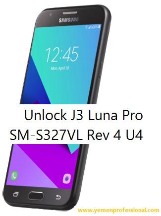Unlock Galaxy J3 Luna Pro SM-S327VL Rev S4