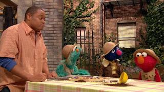 Rosita, Elmo, Chris, Paleontologist Grover, Sesame Street Episode 4314 Sesame Street OSaurus season 43