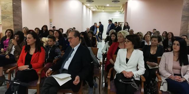 Για την ανεργία, την μητρότητα και την απασχόληση των γυναικών μίλησε ο Π. Νίκας στο Ναύπλιο