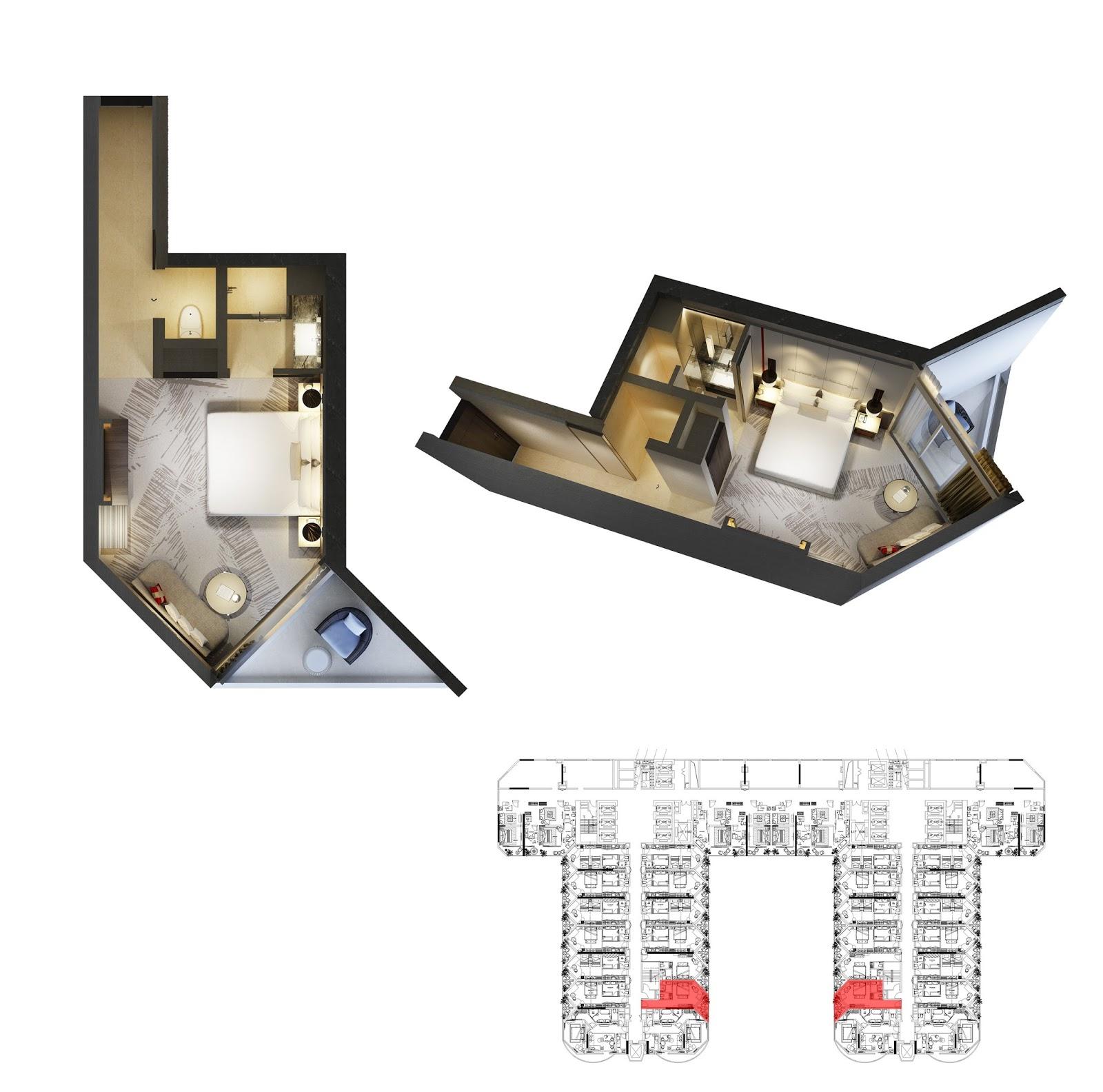 Thiết kế căn hộ số 5 Swisstouches La Luna Nhatrang
