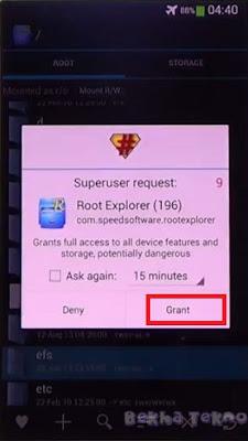 Request super user