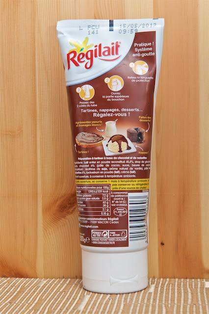 Lait concentré sucré - Chocolat - Noisette - Hazelnut - Dessert - Condensed Milk - Tartines & Dessert - Régilait - Breakfast - Cooking - Cuisine - Milk - Chocolate