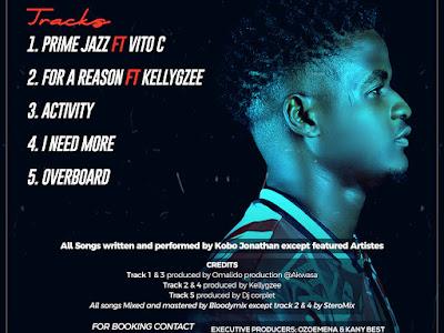 (Album EP) Kobo Jonathan – Prime Jazz (Full Tracklist)