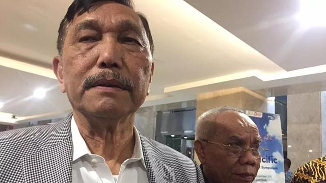 Tanggapi Penusukan Wiranto, Luhut Minta Isu Radikalisme Tak Dibesar-Besarkan