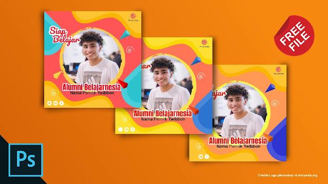Download Twibbon .PSD : Download Kumpulan Twibbon Adobe Photoshop Sekolah Gratis