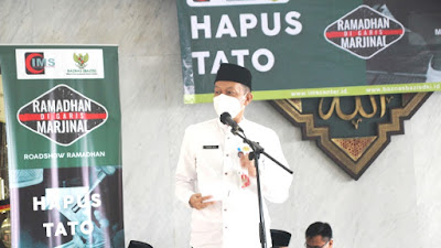 Walikota Jakarta Selatan Apresiasi Program Hapus Tato IMS-Baznas Bazis