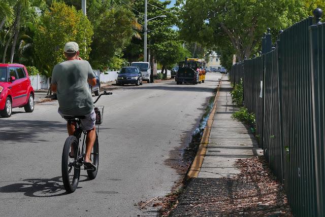 Key West Bicyclist