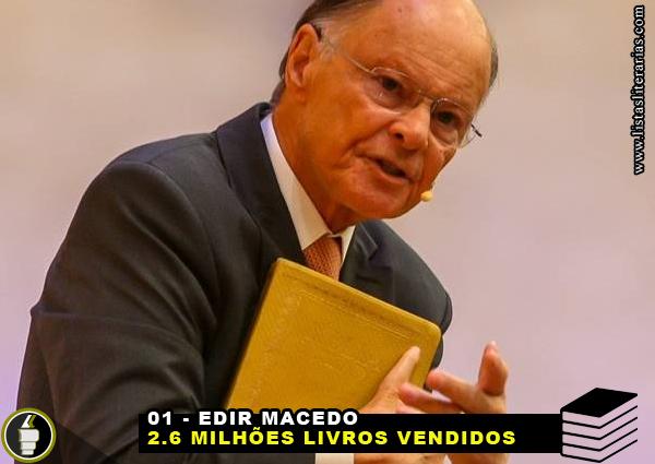 MV 1 - 10 Escritores brasileiros que mais venderam livros nesta década