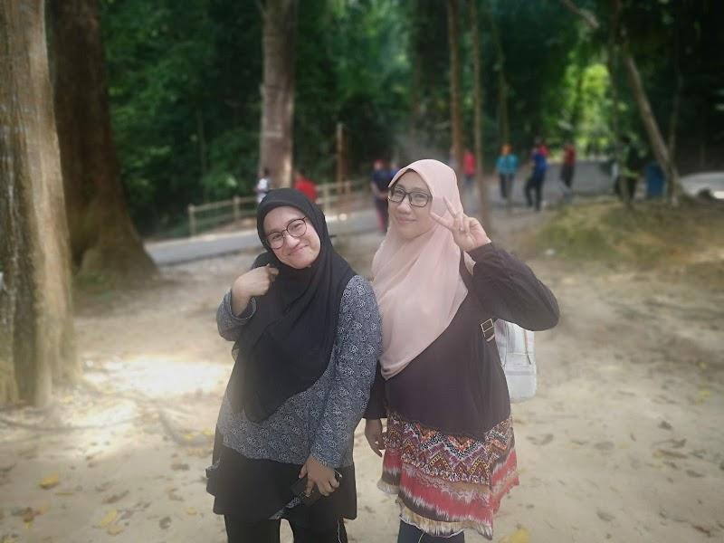 Aktiviti is Riadah Terancang Hiking di Bukit Batu Putih Tanjung Tuan Port Dickson
