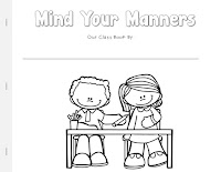 Mind Your Manners Class book