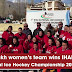 Ladakh wins 7th National Ice Hockey Championship women trophy