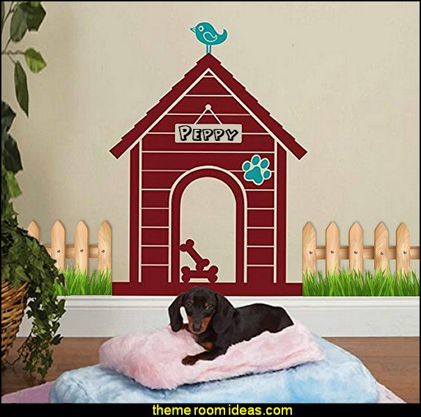 Modern Dog House Indoor: Custom Dog Name Sign Wall Decal  pet gift ideas - gifts for pets - gifts for dogs - gifts for cats - creative gifts for animal lovers‎ - gifts for pet owners pet stuff - cool stuff to buy - pet supplies