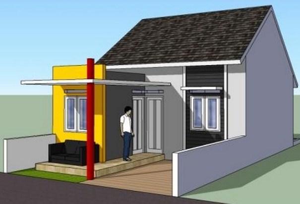 Desain Rumah Minimalis Type 36 60 Dan 36 72 1 Lantai Dan 2 Lantai