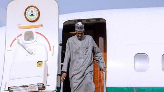 Buhari returns from medical check-up in London