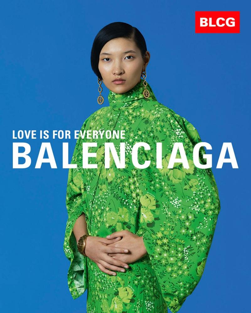 Qin Lei fronts Balenciaga spring-summer 2020 campaign