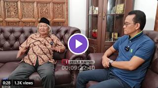 Saat Babe Ridwan Saidi Bilang Jutaan Orang Akan Sambut HRS, Tiba-tiba Petir Menggelegar!