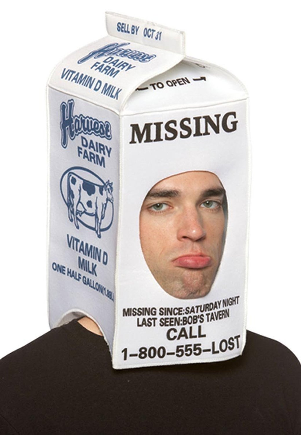 Where is America? |Missing Person Milk