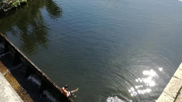 Águas limpidas do Rio Peio