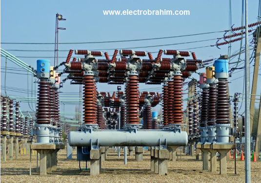 أنواع القواطع بمحطات التحويل الكهربائية Circuit Breakers