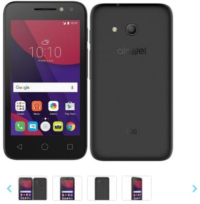 Smartphone Alcatel Pixi4 4 Dual Chip