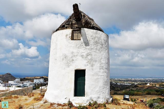 Molinos de Naxos, Grecia