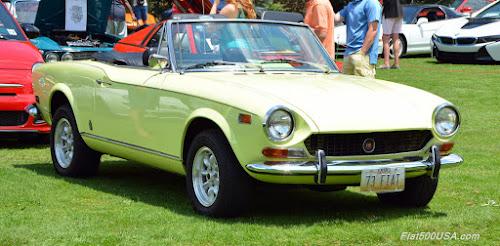 1973 Fiat 124 Sport Spider