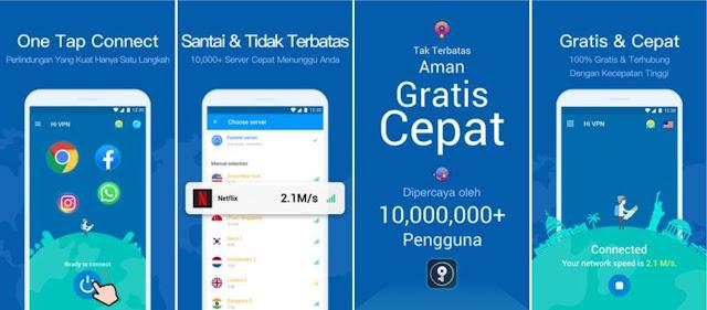 Aplikasi VPN Terbaik untuk Android dan iOS