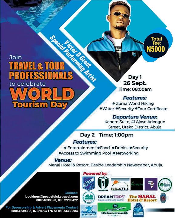 "World Tourism Day Event ""Book Ticket Online"""