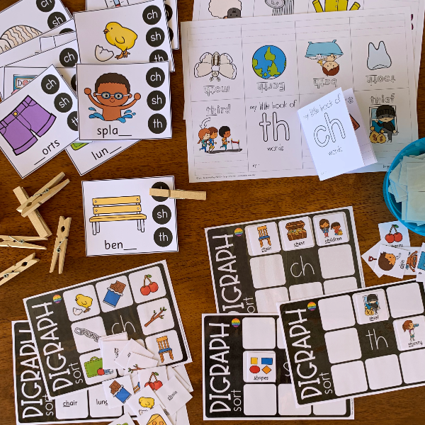 Digraph Activities Pack | you clever monkey