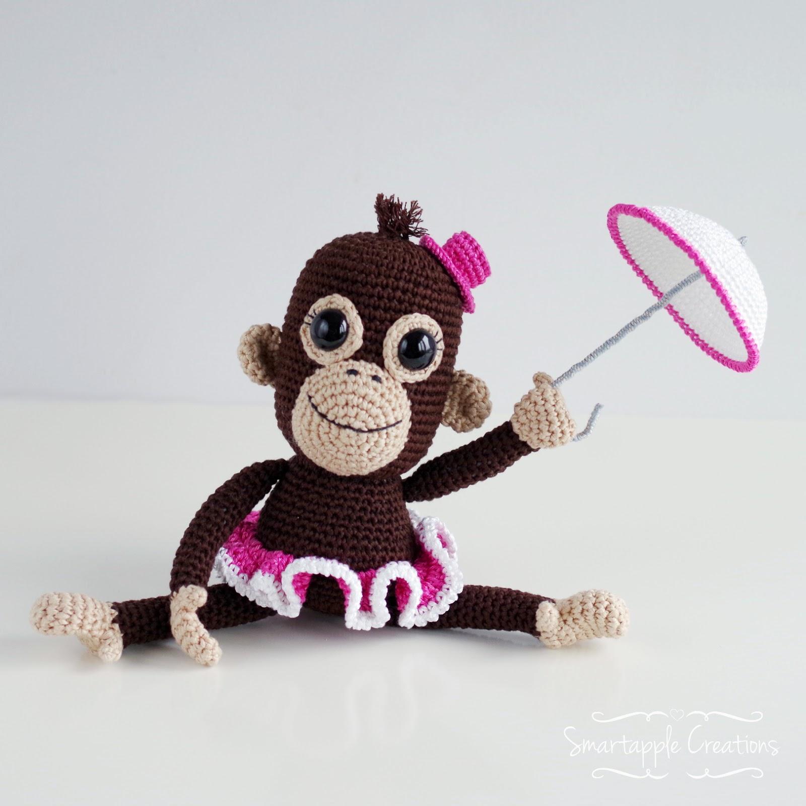 Ravelry: Orangutan baby (amigurumi) pattern by Chrissie Smart | 1600x1600