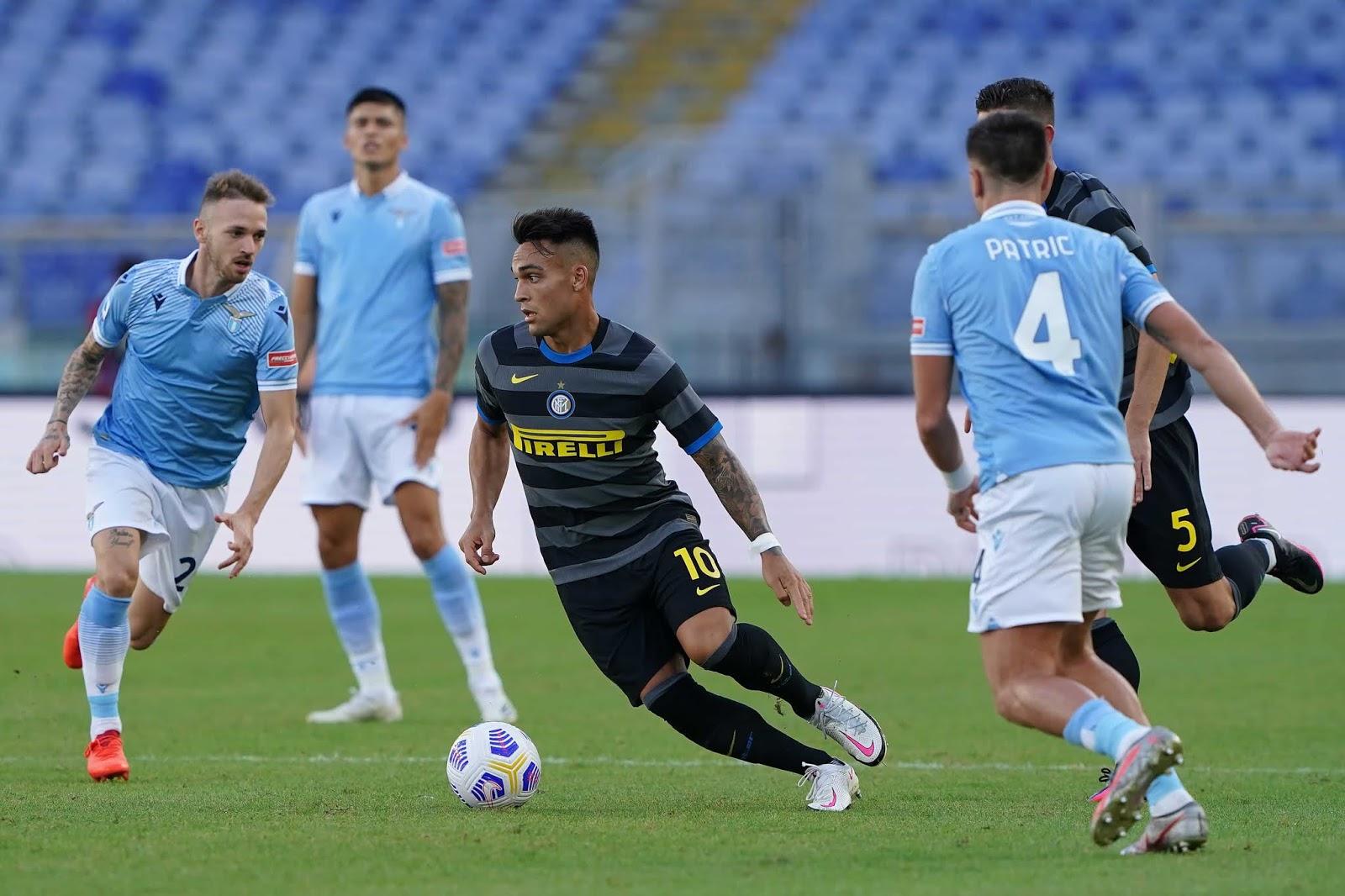 Inter Lazio Lautaro Martinez Serie A