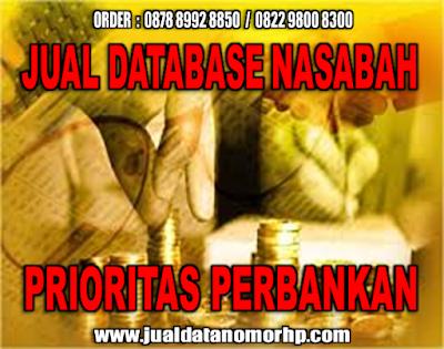 www.jualdatanomorhp.com JUAL DATABASE NASABAH & DATABASE NOMOR HANDPHONE