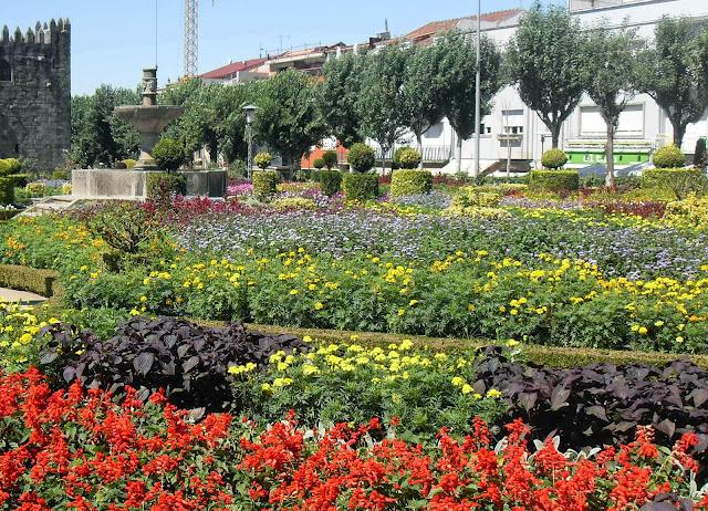jardines en Braga Portugal