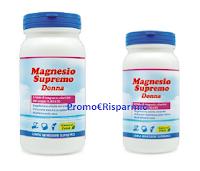 Logo Campione omaggio Magnesio Supremo Donna: richiedilo gratis ( solo 1500 pezzi)
