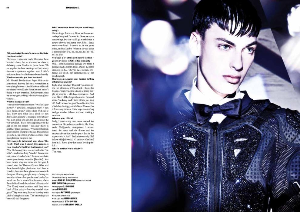 10229e6a24d What He Wears: Marlon Gobel in IDOL Magazine