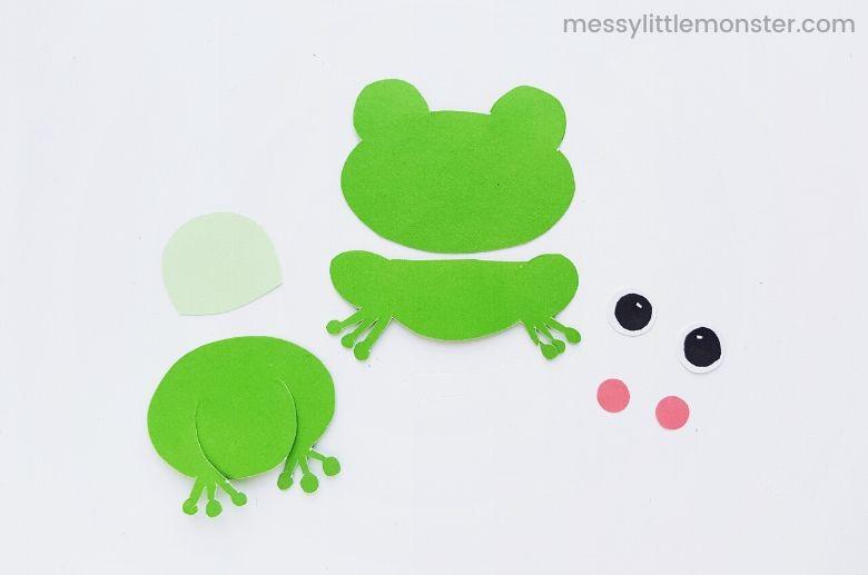 printable frog template