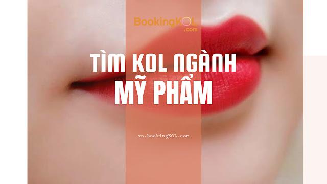 Tim KOL Revew Clip My Pham san pham son moi