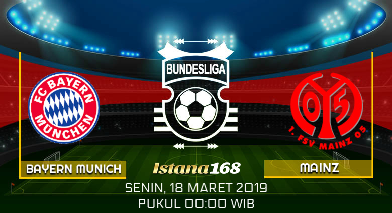 Prediksi Bayern Munich vs Mainz 18 Maret 2019