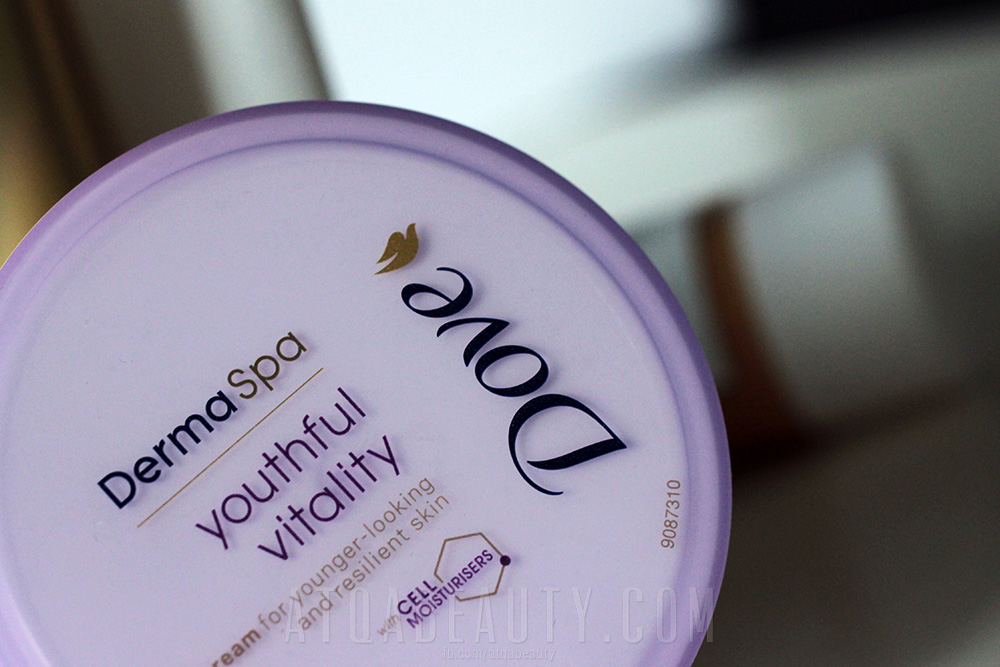 Krem do ciała DOVE DermaSpa Youthful Vitality