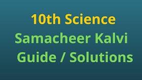 10th Science Samacheer Kalvi Guide