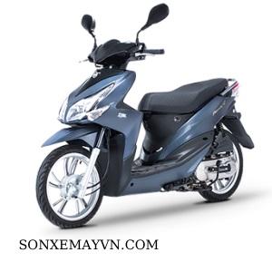 Bán Sơn xe máy SYM màu xanh