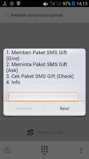 cek sms gift